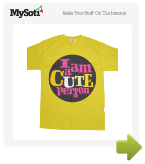 Cute for guys nr.01  tee by 112mirabela. Available from MySoti.com.