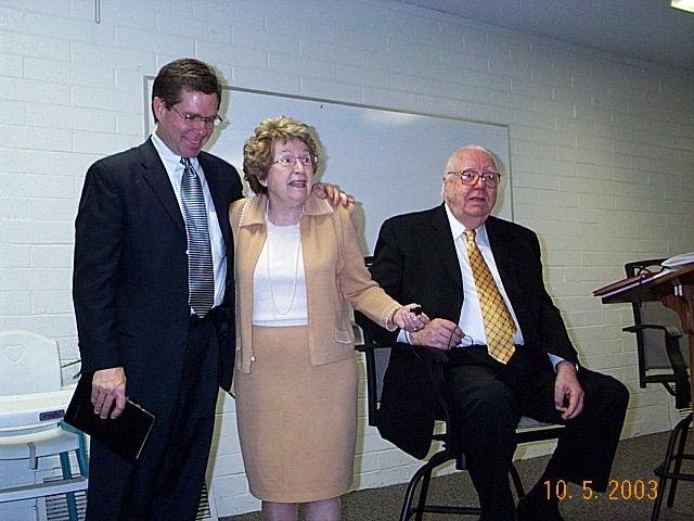 Dad's Sunday School Class, Biltmore Nazarene 2003
