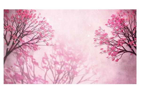 oriental blossom Canvas art