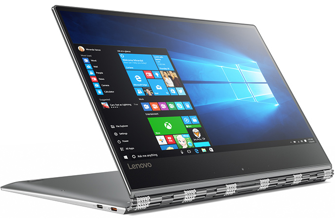 Lenovo-Yoga-910 Lenovo Yoga 910, Laptop Konvertibel Processor Intel Gen 7 Core i7 Mantap