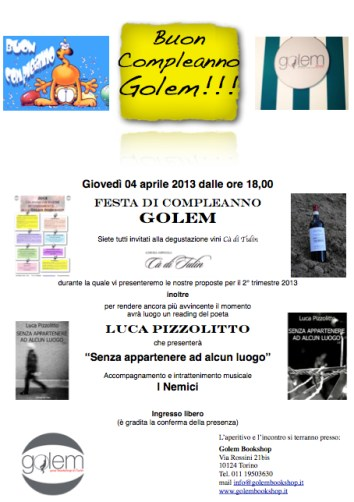 compleanno golem
