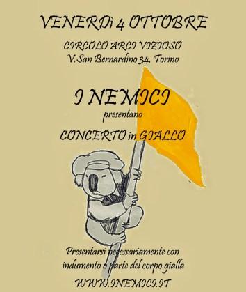 concerto giallo
