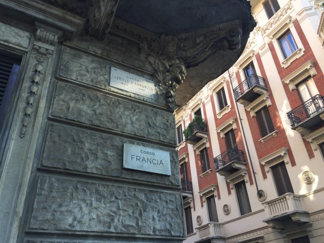 Corso Gabriele D'Annunzio Corso Francia