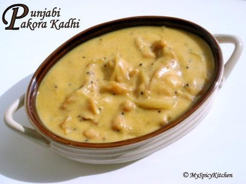 Punjabi Pakora Kadhi
