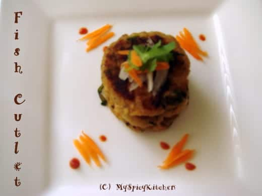 Fish cutlet