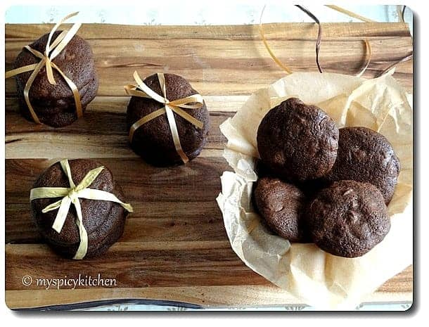 Ultimate Double Chocolate Cookies, Chocolate Chip Cookies, Blogging marathon, Chocolate Mela