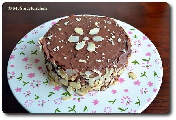 Julia Child, Chocolate Almond Cake, Reine de Saba avec Glaçage au Chocolat, Baking Partners