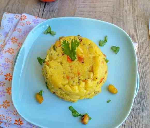 Tomato Upma, Spicy Semolina Porridge, Savory Porridge