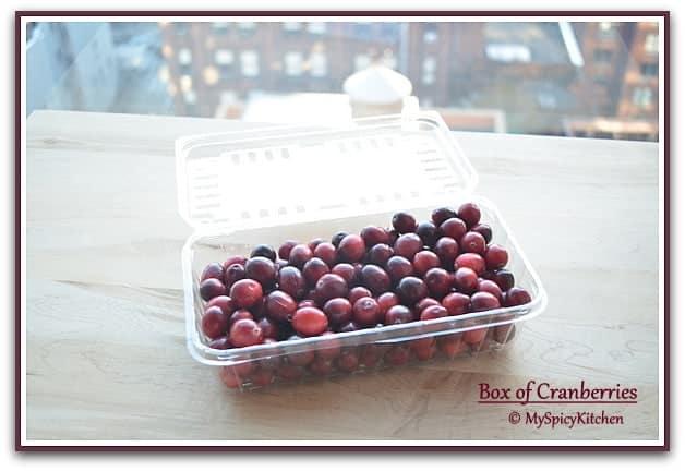 Fresh Cranberries, Cranberries Recipe