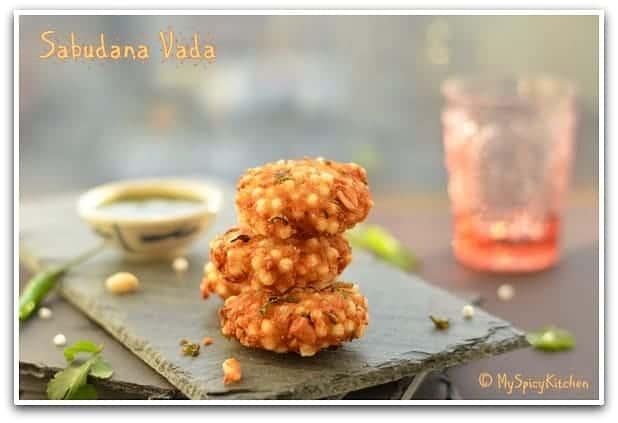 Blogging Marathon, Marathi cuisine , Tapioca fritters