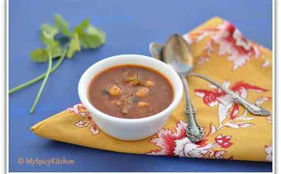 Shorba Frik, Green Wheat Soup, Algerian Soup, Ramadan Soup, Around the world in 30 days with ABC Cooking