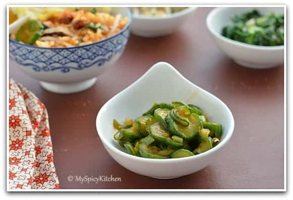 Korean Food, Korean Cuisine, Korean Salad, Korean Side Dish, Banchan, Food of the World