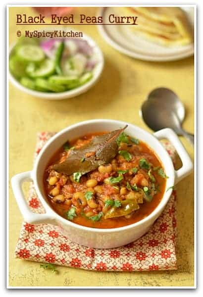 Blackeyed peas curry,