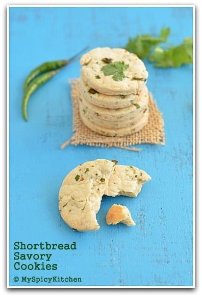 Savory Shortbread Cookies ~ Iyengar Bakery Khara Biscuits
