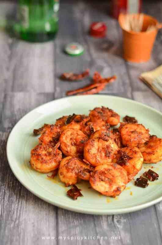 Sauteed Shrimp, Buffet On Table, Blogging Marathon,