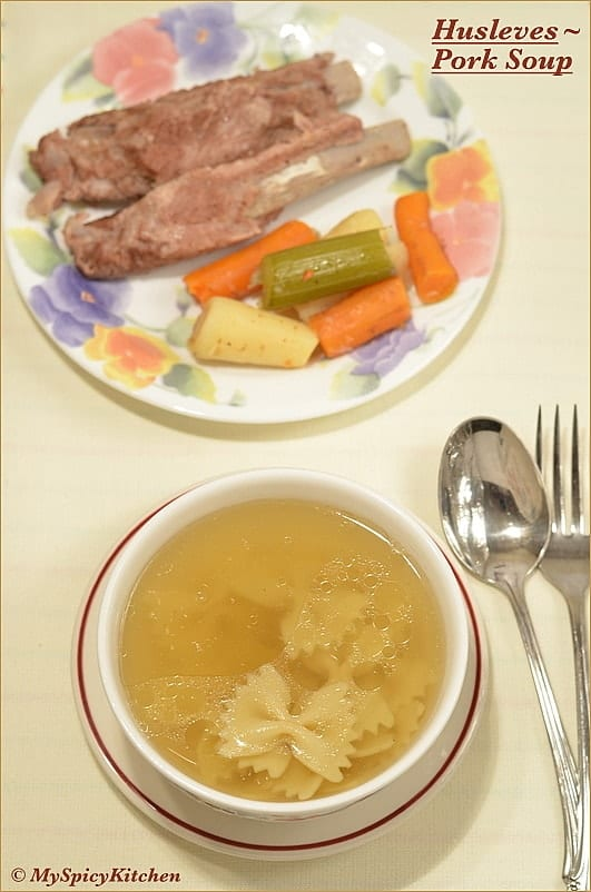 Hungarian Soup, Pork Soup, Hungarian Broth, Food of the World, Hungarian Cuisine, Hungarian Food,