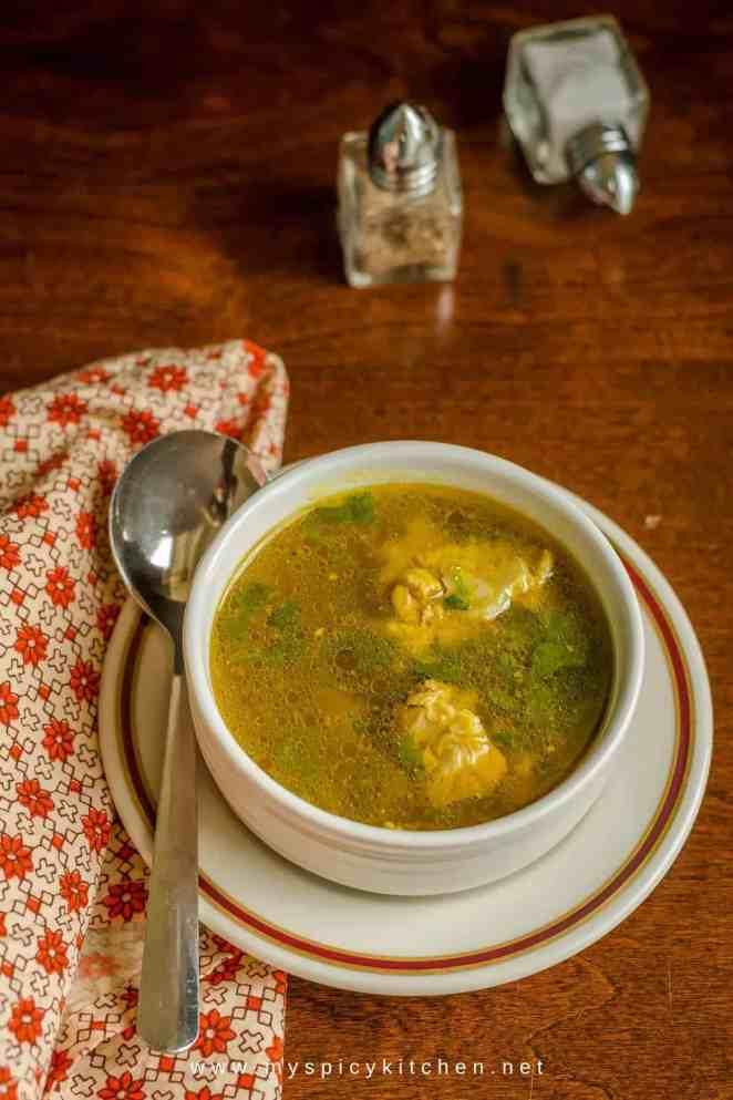 Soup Kitchen International Menu