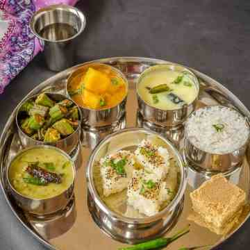 Gujarati Thali, Gujrati Platter, Indian Food, Gujarti Food,