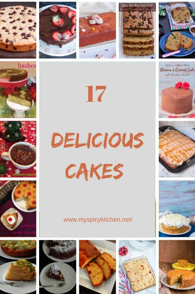 17 Easy Cake Recipes