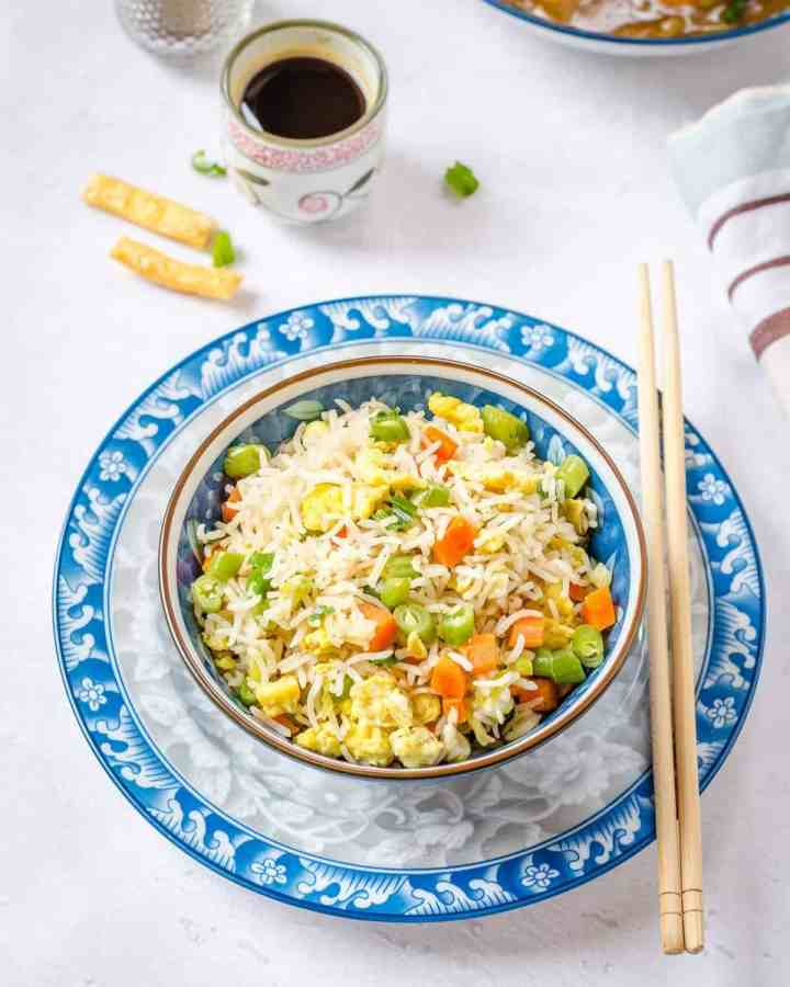 Indo Chinese Egg Fried
