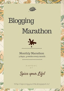 Blogging Marathon Logo