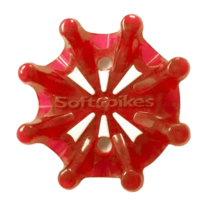 Soft Spikes - Pulsar Tour Lok Cherry set of 18