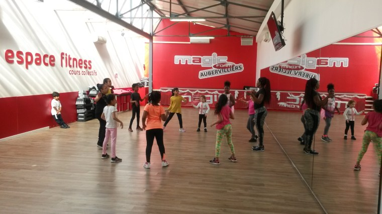 Zumba for kids, paris
