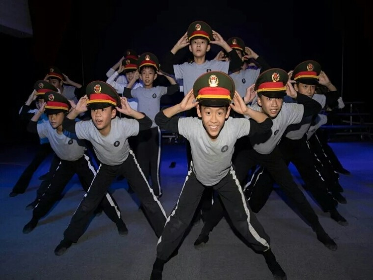 Dance club Baocheng Primary School