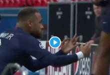 Photo of Neymar Mocks Erling Haaland Goal Celebration As PSG Reach Quarter-finals Of UCL (Video)