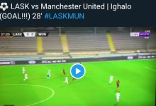 Photo of GOALLL Ighalo Scores AGAIN For Manchester United, LASK 0-2 (Video)