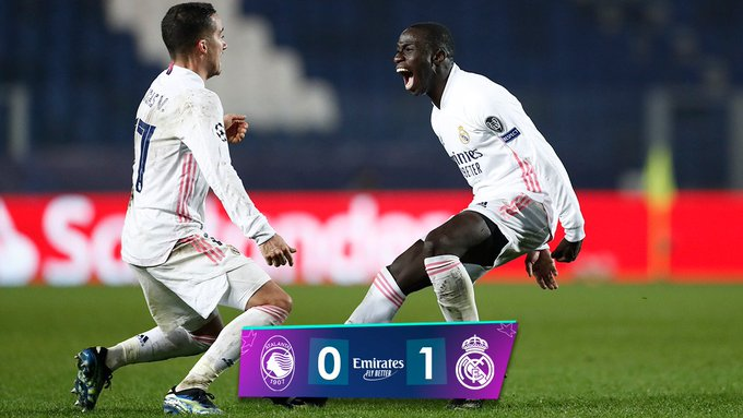 FT: Atalanta 0-1 Real Madrid, Ferland Mendy STRIKES! (Match Report And  Highlight) - MySportDab