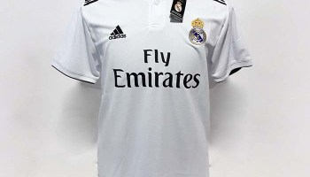 d3b3c71e8 Authentic Real Madrid FC 18 19 Home Jersey
