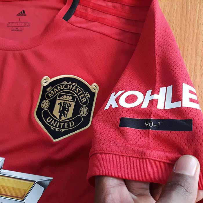 uk availability ba504 97db0 Manchester United FC 2019/20 Home Jersey