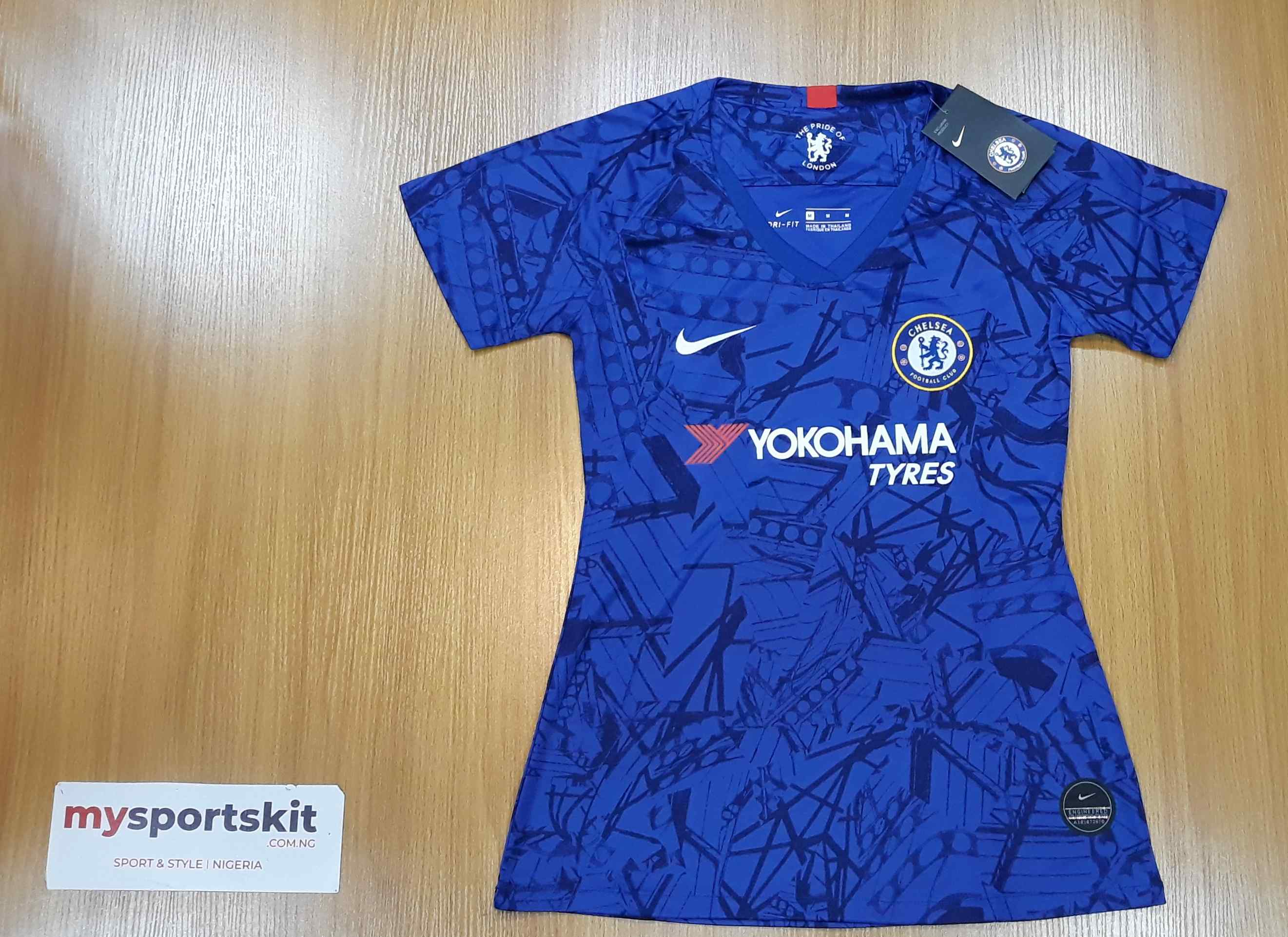 the best attitude cfd29 5f7bf Chelsea FC 2019/20 Home Female Jersey