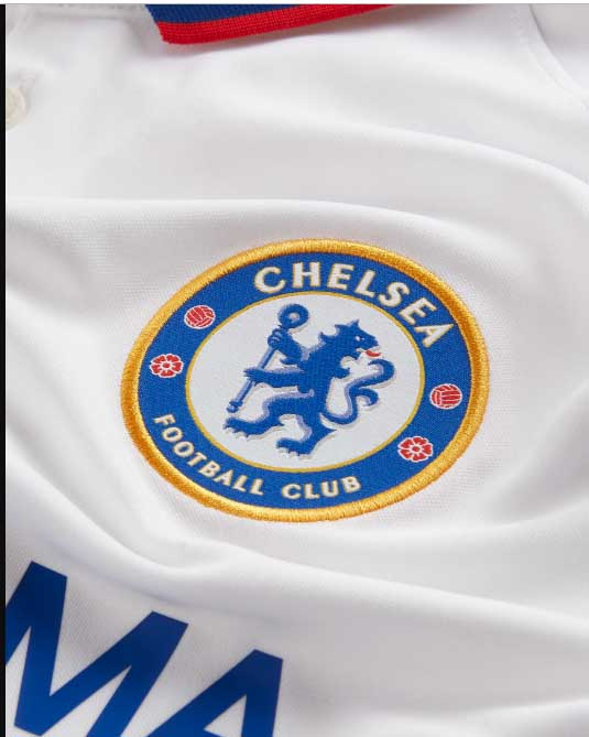 Chelsea FC 2019/20 White Away Jersey badge