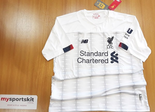 Liverpool FC 2019/20 Away Jersey Real