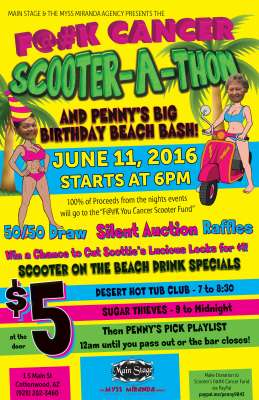 The F@#K CANCER Scooter-A-Thon!