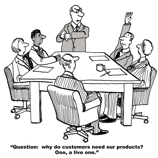 satisfy and keep your customers, satisfy them