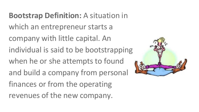 bootstrapping your startup
