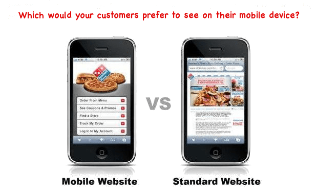 mobile phone websites comparison
