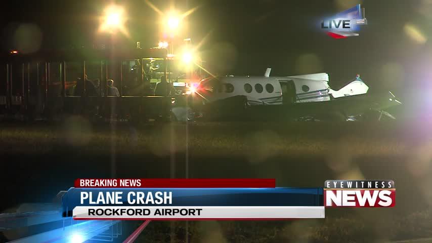 Breaking News-  Plane Crash at Rockford Airport_09288842
