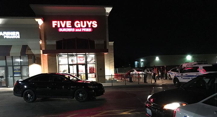 five guys robbery