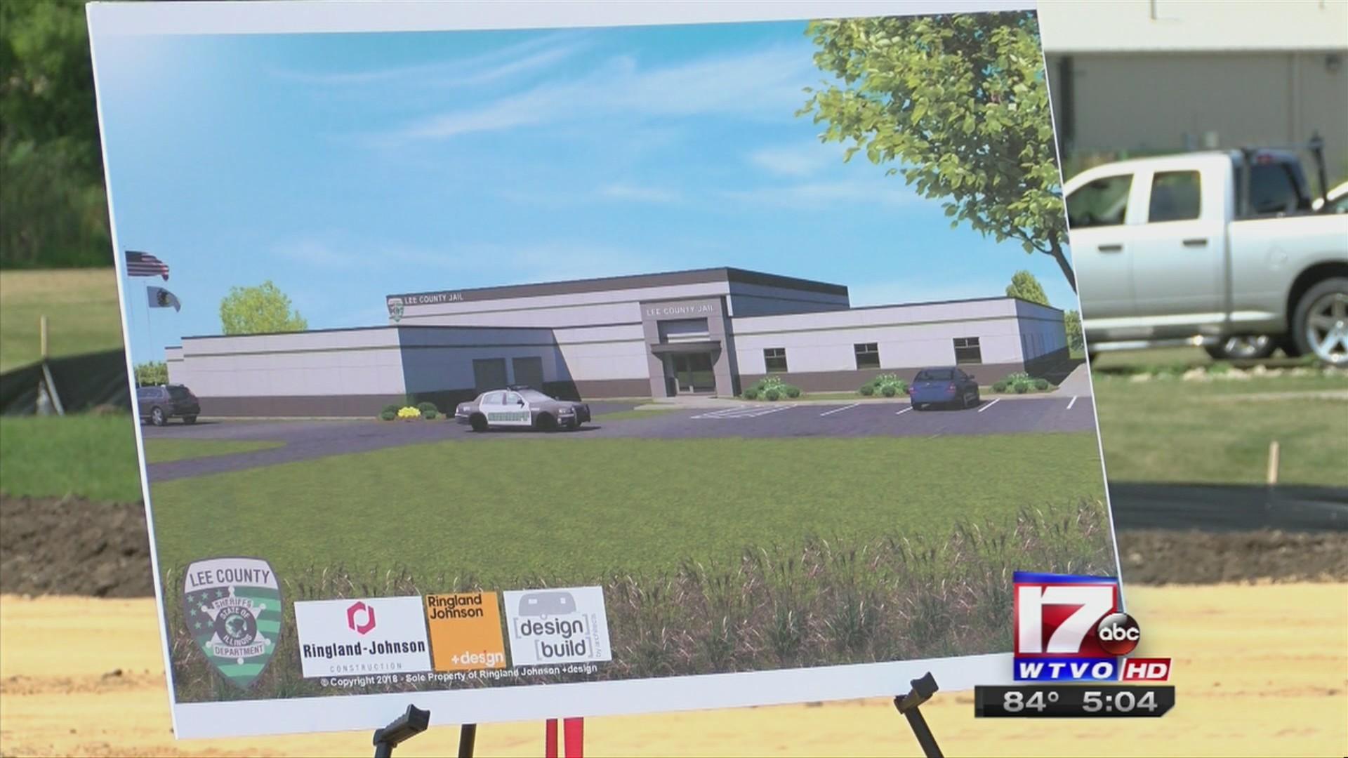 Construction begins on new, modernized Lee County Jail