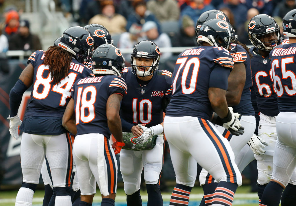 Chicago Bears Draw Energy Confidence From Win Over The Lions