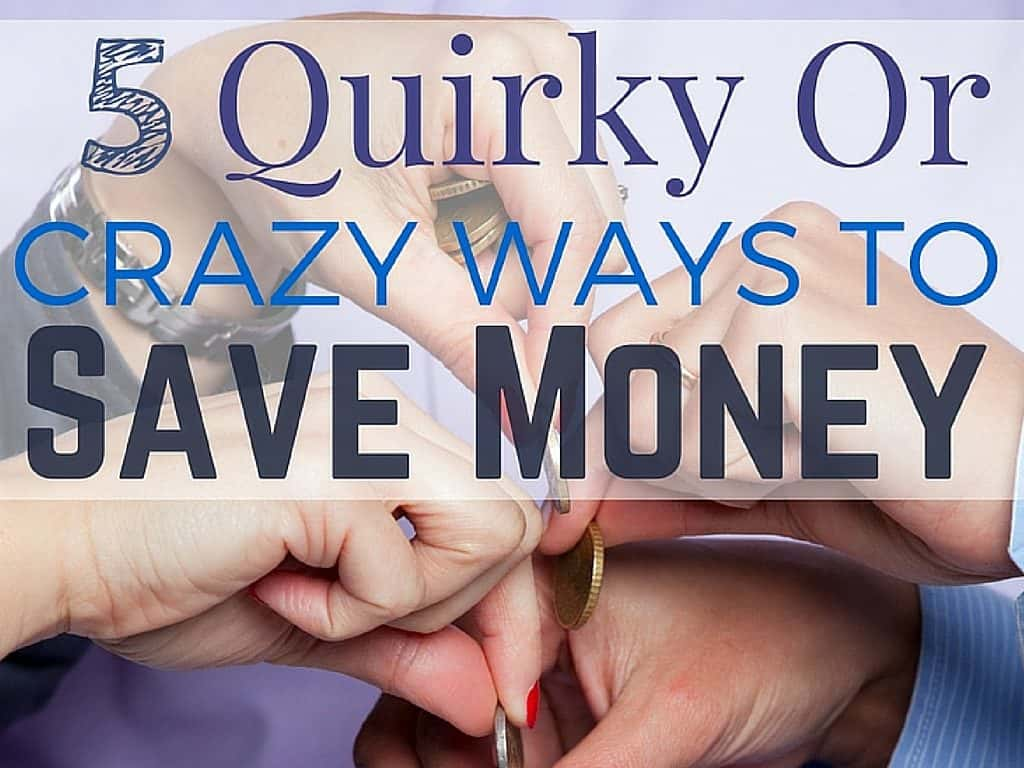 Crazy ways to make money.