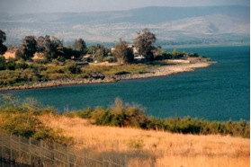 When you visit the Bay of Parables at the northwestern end of the Sea of Galilee, you will understand how Jesus could have spoken to thousands from a boat with everyone hearing Him. The hillside around the Bay is a natural amphitheater.