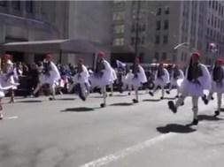 Παρέλαση Τσολιάδων στην Νέα Υόρκη