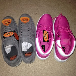 Lugz Pink and Gray