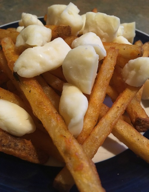 fries and cheese