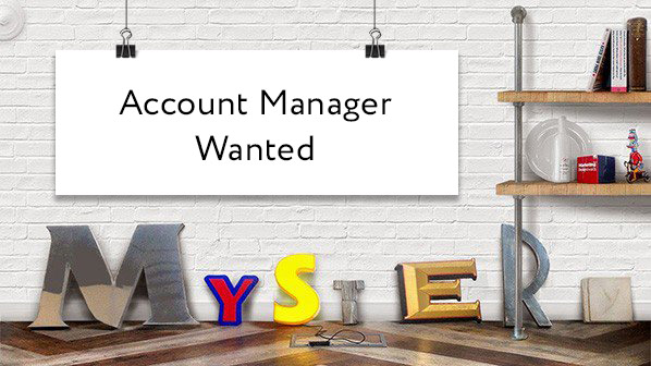 Account Manager Wanted  Mystery Ltd  Brand Design Agency